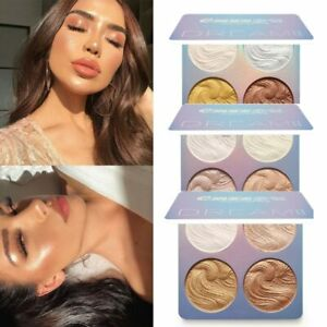Facial Highlighter Makeup Brighten Face Contour Shiny Liquid Highlighter Powder