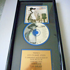 Clay Walker Debut Album Gold Record Award