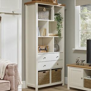 Cotswold Sonoma Oak Occasional Range - Tv Unit Tables Storage - Cream