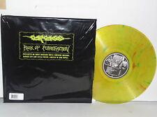 CARCASS Reek Of Putrefaction LP Vinyl Vomit Inducing Ltd 1500 Grindcore RE RM