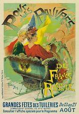AP126 Vintage La Pepiniere Chauffons Theatre Advertisement Poster Card Print A5