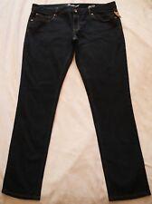 JEANSWEST Dark Blue Denim SUPER SKINNY JEANS Size 18 BNWOT NEW Stretch Pockets