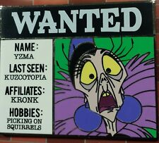 Disney Cm Yzma Emperor'S New Groove Villains Wanted Series Le500 Pin