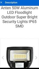 anten flood light 50w ip65