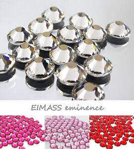 Grade A Hotfix Glass Crystals, EIMASS® 7747 Flat Back Rhinestones, Gems,Diamante