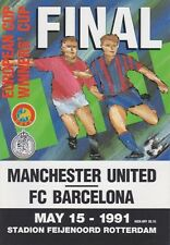 EUROPEAN CUP WINNERS CUP FINAL 1991 MAN UTD BARCELONA