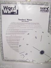 NES Arnold Large Educational Childrens Phonics Literacy Writing Word Wheel Four