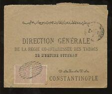 Turquía Esmirna 1895 Tapa.. el Gazi 20Pa Par barrado oval