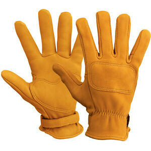 Lee Parks Design DeerTours Gloves Motorcycle Gloves - Black or Tan