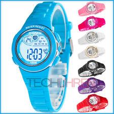 Zierliche digitale Armbanduhr XONIX Damen Mädchen Herzchen WR100m