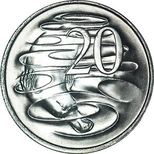Elizabeth II Australia 20 Cents Coins Mixed Designs/Years/Grades