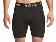 ABCOSPORT Compression Sport Shorts Black Size Medium Comfort Anti-odor Wicking