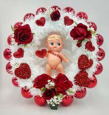 Kewpie Doll Angel Valentine's Day Wreath