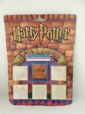J.K. Rowling Harry Potter Wood Stamp Set, Sealed on Cart, 2001 WB.