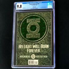 Green Lantern v3 #81 💥 CGC 9.8 💥 Deluxe Edition! Embossed Emerald Cover! Comic