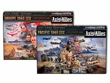 AXIS & ALLIES 1940 EUROPE & PACIFIC 2ND EDITION BOARD STRATEGY GAME NEW SEALED