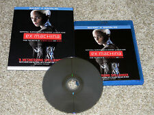 Ex Machina (Blu-ray Disc, 2015, Digital HD, Ultraviolet)