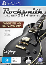 Rocksmith Rock Smith 2014 with Real Tone Guitar & Bass Cable PS4 Game NEW