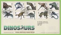G.B. 2013 Dinosaurs set on Royal Mail First Day Cover, Tallents House