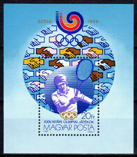HUNGARY - MAGYAR POSTA - 1988--Summer Olympics, Seoul - MNH Souvenir Sheet #3127