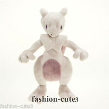 "New Mewtwo Stuffed Pokemon XY Plush Toy Stuffed Doll figure 25cm 10"" Gift"