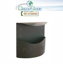 Cassetta portapubblicità in lamiera zincata Alubox - Mod. Marsupio