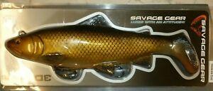 Savage Gear 3D Trout Rattle Shad 27.5cm  275GM DIRTY ROACH ! BARGAIN