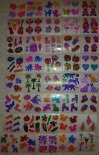 🌸💖Sandylion💖🌸 Sticker Designs 80er/90er 40 Glanz Pearly Abrisse zum sammeln