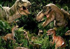 Jurassic Dinosaur Park Theme Photo Poster Print ONLY Wall Art A4 ART WORK REF1