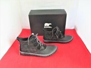 Sorel Women's Out N About Plus Lug Sole Booties $120 - Black - US Size 9 M