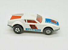 Lesney Matchbox Superfast De Tomaso Pantera No.8 1975 White United Kingdom