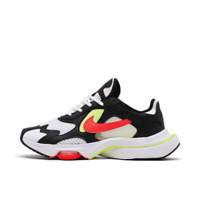 Men's Nike Air Zoom Division Casual Shoes Black/Flash Crimson/White/Volt CK2946