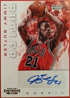 2012-13 JIMMY BUTLER AUTO SIGNATURE CONTENDERS ROOKIE RC CARD MINT! MIAMI HEAT