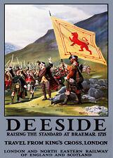 Affiche chemin de fer Anglais - Deeside