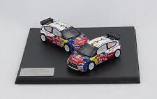 CITROEN C4 WRC RALLY CATALUNYA 2009 #1 #2 1/43 IXO ORIGINAL CITROEN BOX