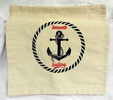 Nautical Theme Cotton Canvas Cushion Cover (A) New