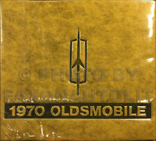 1970 Olds Color Upholstery Dealer Album 442 Supreme Cutlass 98 88 Toronado F85