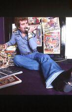 EDDY MITCHELL 80s DIAPOSITIVE DE PRESSE ORIGINAL VINTAGE SLIDE #006