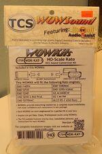 TCS #1759 WDK-KAT-1 WOWKit DCC Sound Conversion Kit NEW