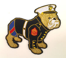 US MARINE CORPS BULLDOG DRESS UNIFORM Military Hero Biker Patch PM5121 EE