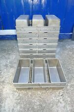More details for 1x fbs 0507 triple 3 strap baking loaf bread tin strapped bakery catering bakers