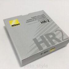 Nikon HR-2 Rubber Lens Hood for 50mm f/1.4, f/1.8 D F1.4 F1.8 JAPAN