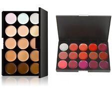 3D Contour 15 Color Concealer Palette & 15 Color Rich Shades Ultra Lip Palette
