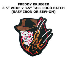 FREDDIE CRUGER HALLOWEEN  CLASSIC HORROR FILM MONSTER MOVIE PATCH