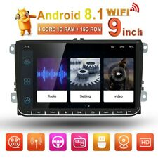 "Radio de coche  9 "" GPS ANDROID 8.1 por VW GOLF5 / 6 TIGUAN TOURAN PASSAT POLO"