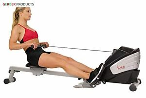 Sunny Health and Fitness Unisex's Dual Function Magnetic Rowing Machine SF-RW562
