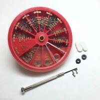 259Pcs Eyeglass Sunglass Watch Repair Kit Tools Screwdriver Screws