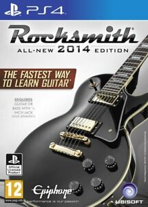Rocksmith - 2014 Edition with Real Tone Cable | PS4 PlayStation 4 [New]