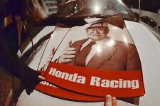2x Kanjozoku Soichiro Honda Racing Track Number Plate Decal Door Sticker No Good