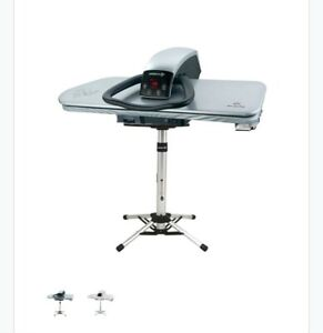 Steam Ironing Press 101HD Professional Heavy Duty 101cm, Silver (& Iron/Filter+)